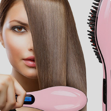 Hair Brush for straightener