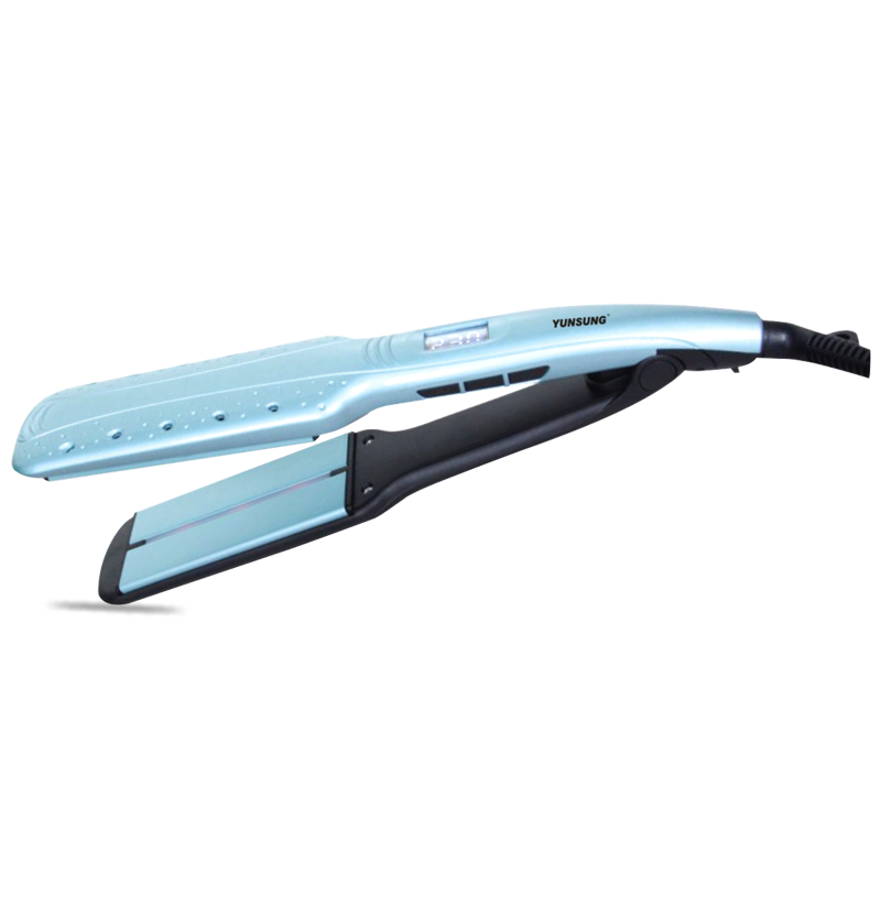 Professional LCD Hair Straightener with Infrared Light