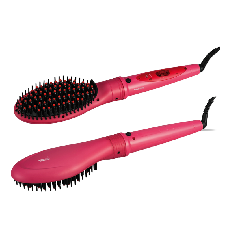 LED 3 in 1 hair style hair brush