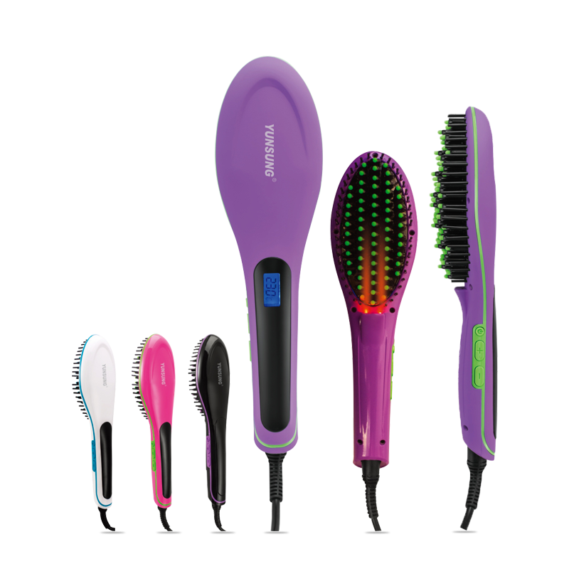 Hottest products magic brush for hair straightener