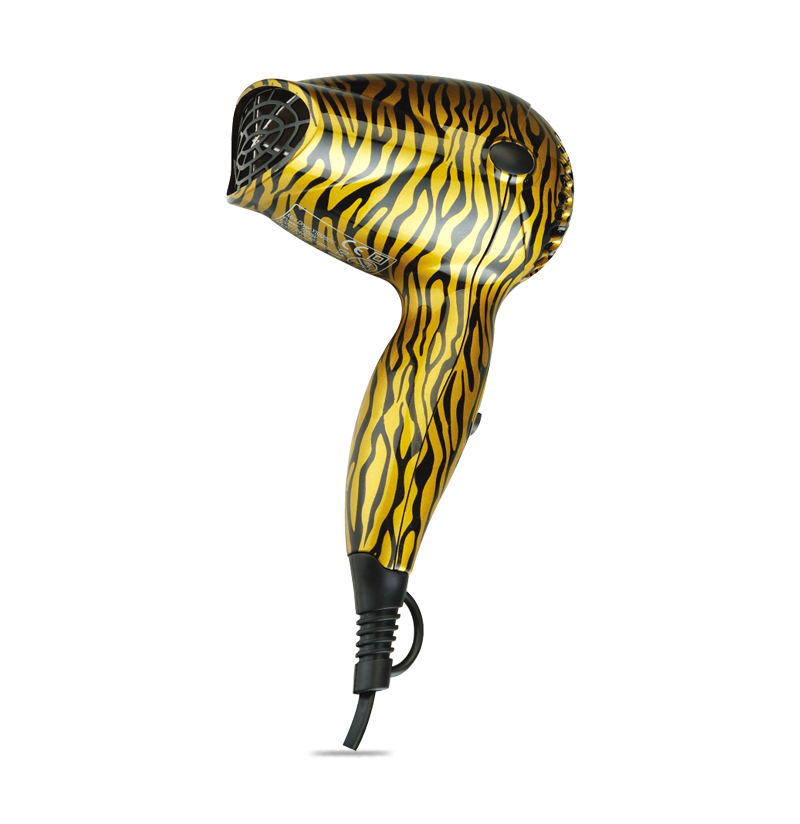 In School Or Household Leopard printed Mini Hair Dryer