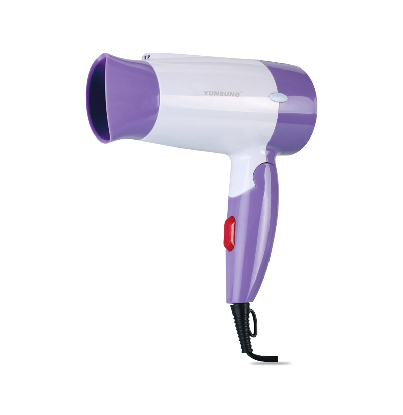 Mini foldable hair dryer best for travel hotel home use