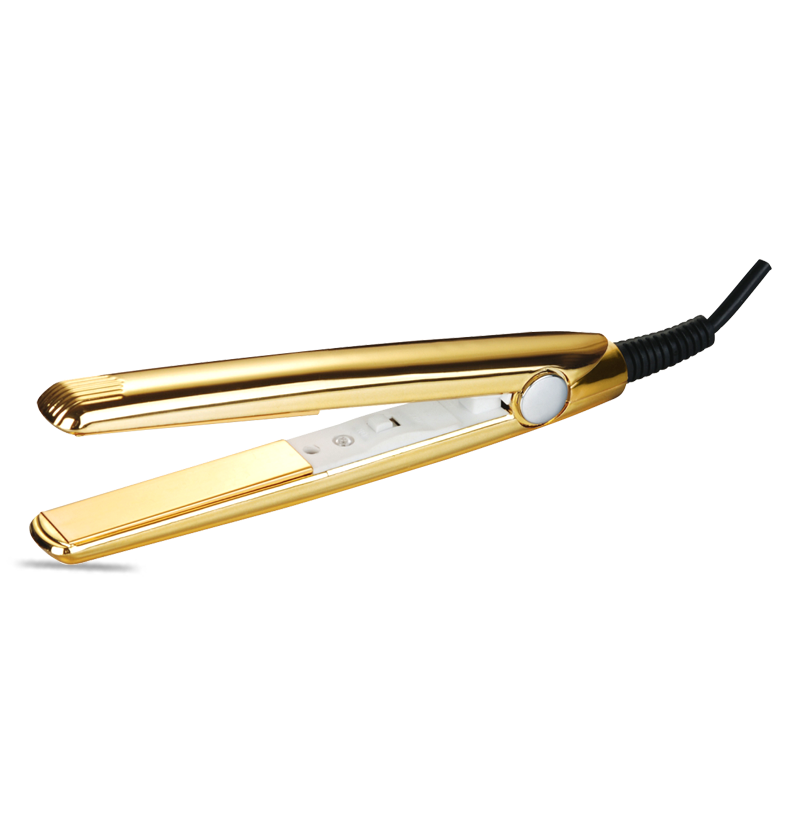 Mini Flat Iron Tourmaline/Aluminum Small Hair Straightener