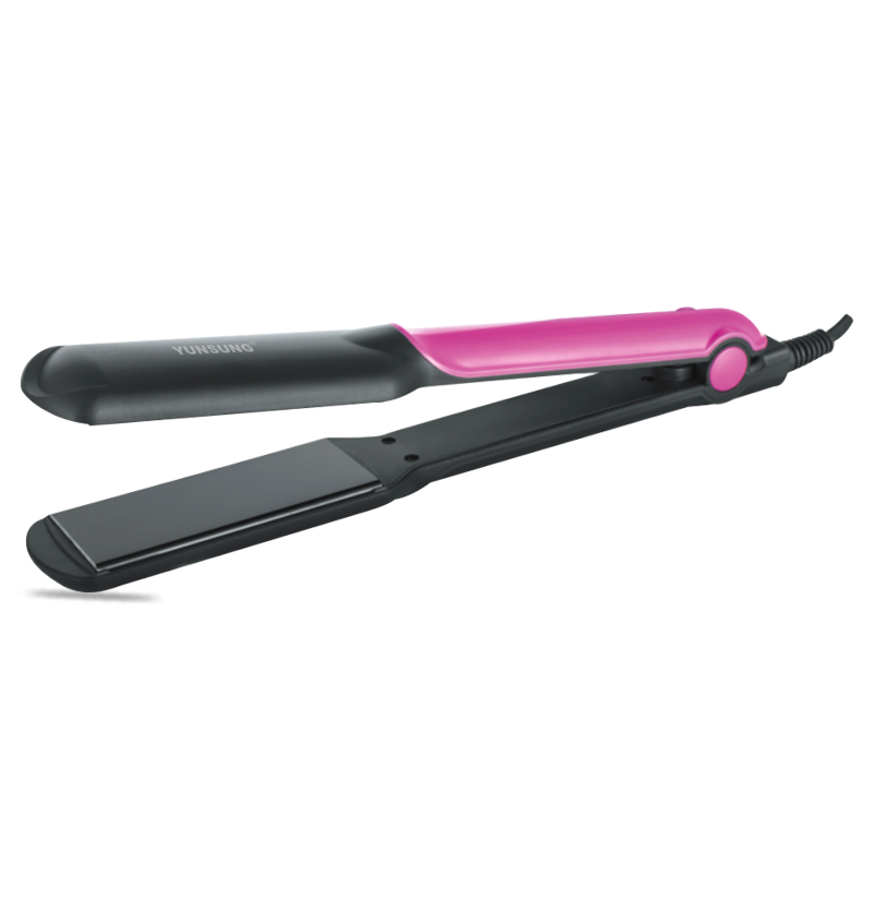 Aluminum flat iron hair straightener